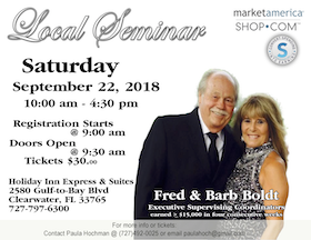 Fred and Barb Boldt Seminar
